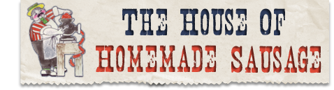 House of Homemade Sausage Logo